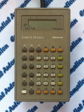 Siemens Simatic S5 6ES5 605-0UB11 Programming Unit