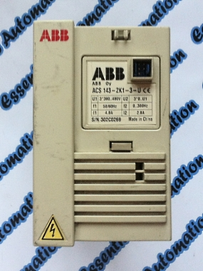 ABB ACS143-2K1-U Inverter / Variable Speed Drive.