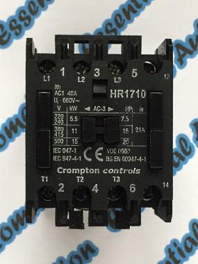 crompton contactor wiring diagram crompton image essential automation crompton controls hr1710 380 400vac on crompton contactor wiring diagram