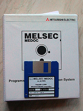 Genuine Mitsubishi Melsec Medoc FX Programming Software.