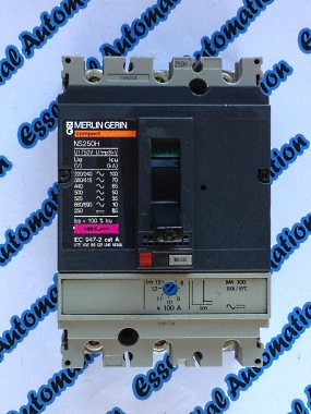 Essential Automation Ltd Merlin Gerin Ns250h 100a Mccb