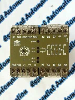 4.012 no 474790 Pilz PNOZ V 30 S 24 V DC reg